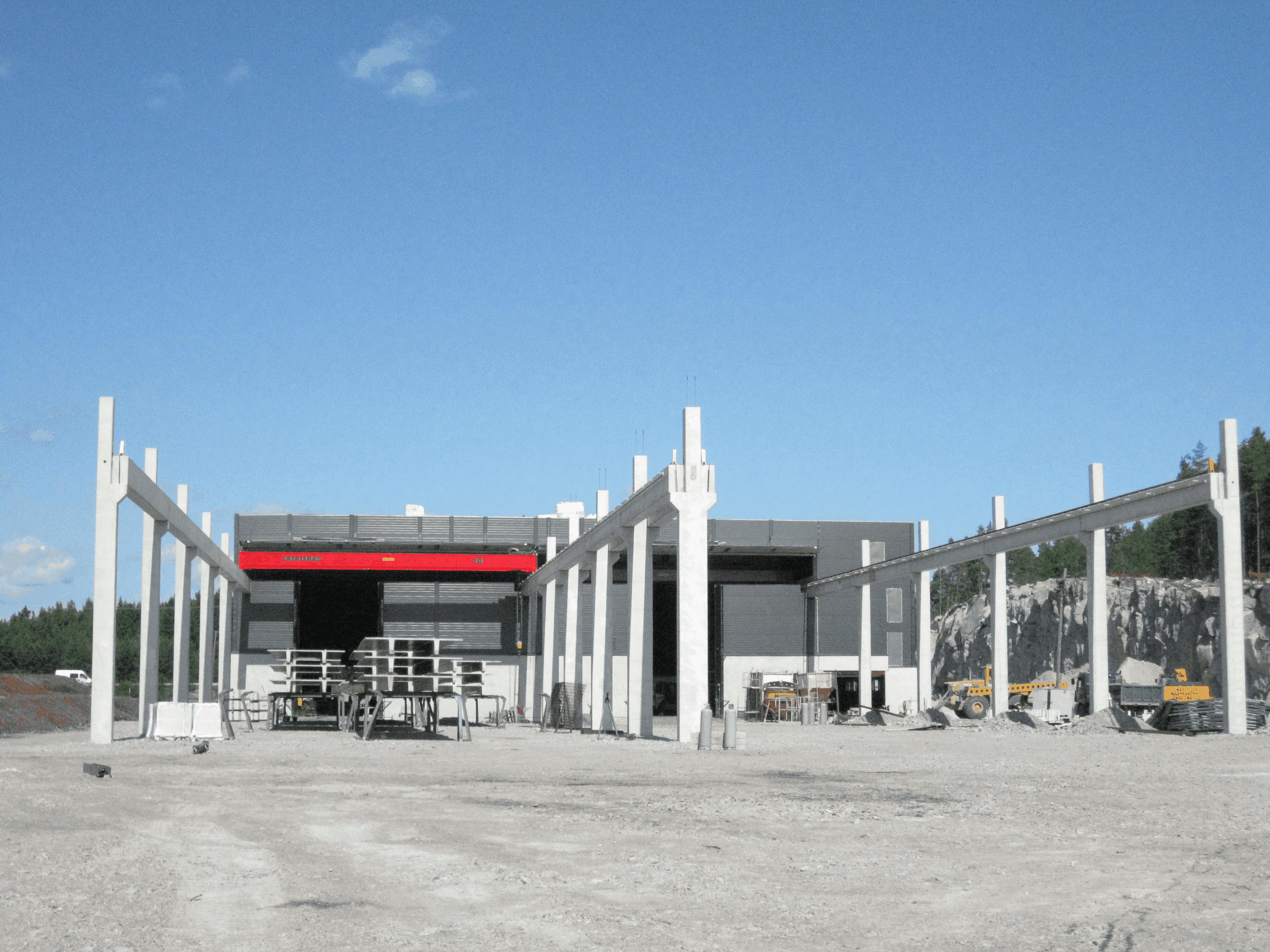 Teollisuusrakentaminen